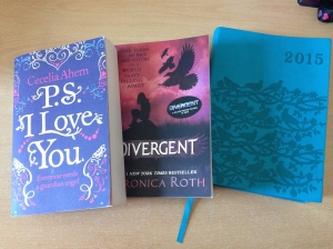 The two books with my planner :D